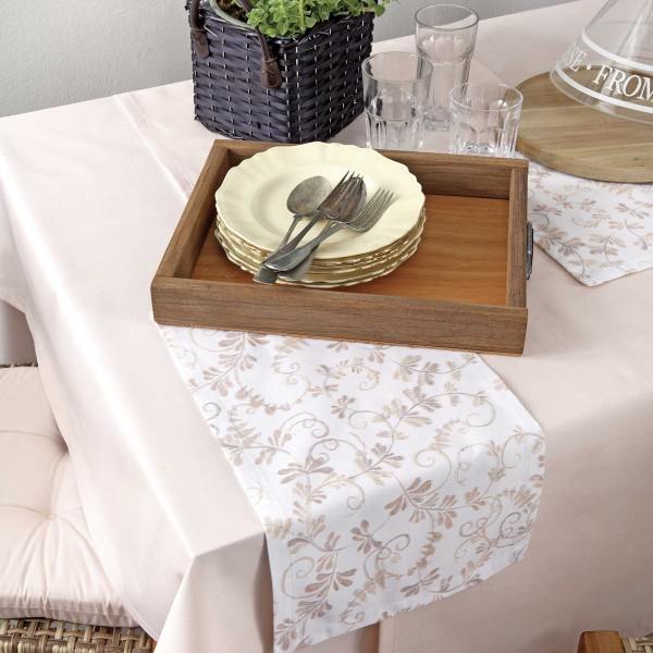 Τραβέρσα Nima Table Linen Amarath