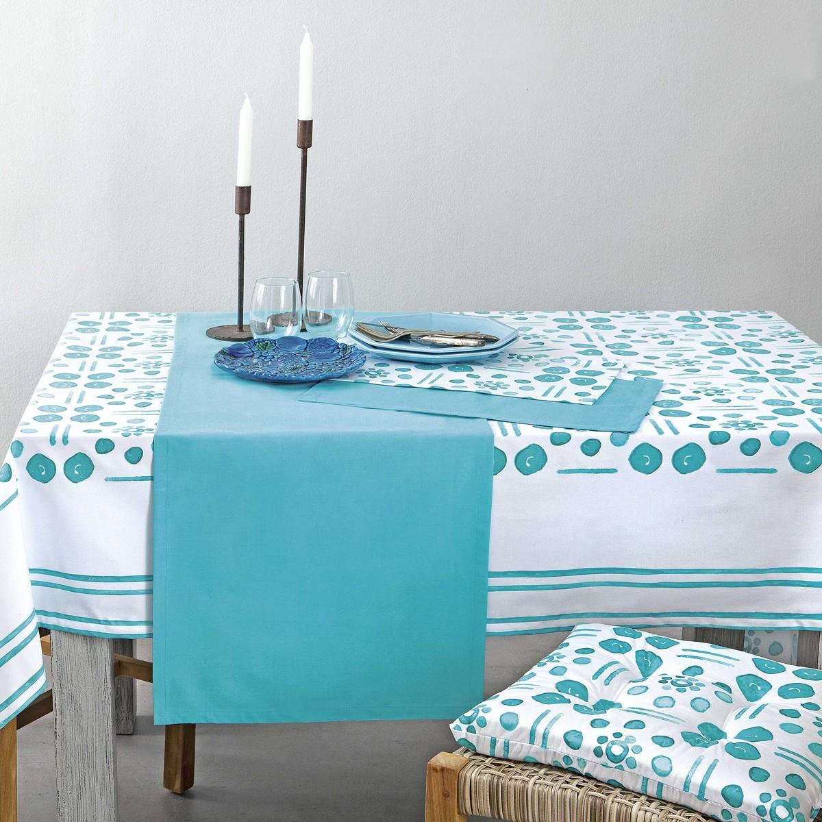 Τραπεζομάντηλο (150×150) Nima Table Linen Cyclades