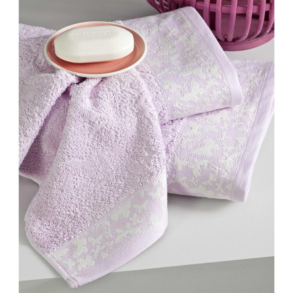 Πετσέτες Χεριών (Σετ 4τμχ) Nima Towels Farfatte