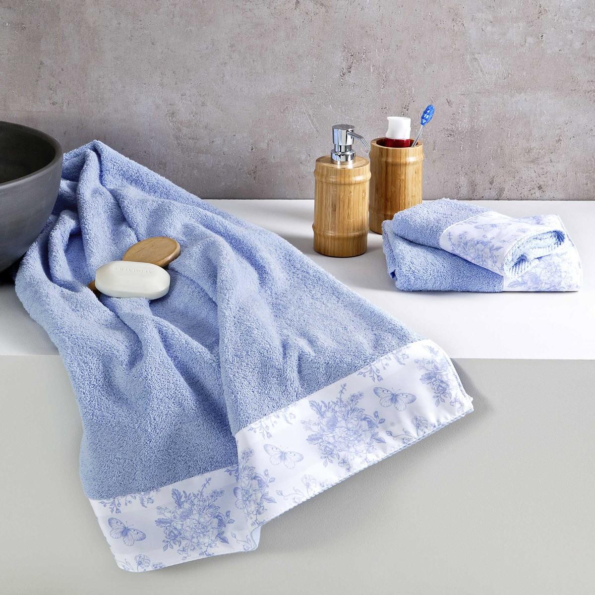 Πετσέτες Μπάνιου (Σετ 3τμχ) Nima Towels Whitehall