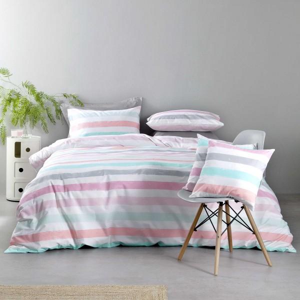 Σεντόνια Μονά (Σετ) Nima Bed Linen Cantieri Pink