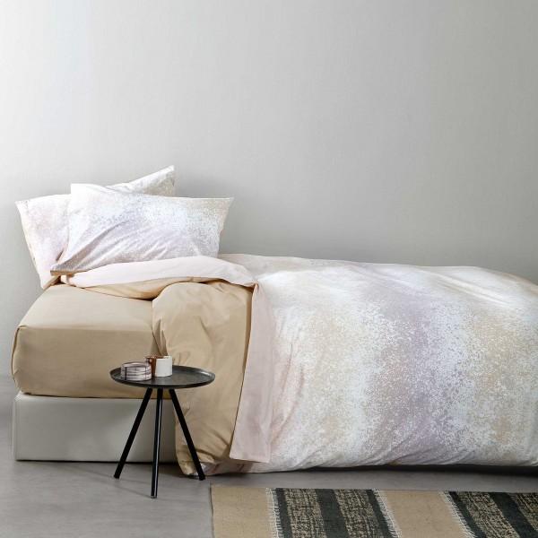 Σεντόνια Υπέρδιπλα (Σετ) Nima Bed Linen Samoa Beige