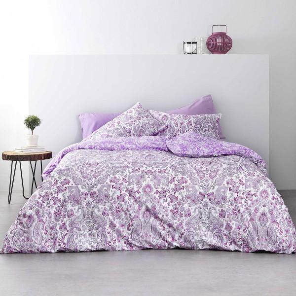 Σεντόνια Υπέρδιπλα (Σετ) Nima Bed Linen Ananta Lilac