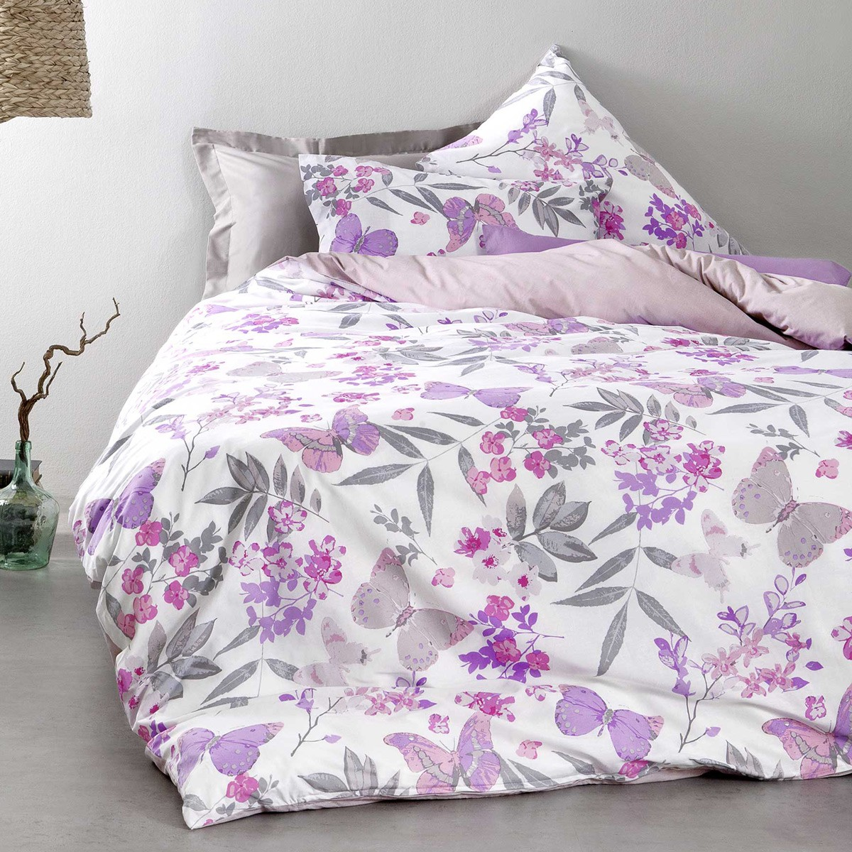 Κουβερλί Υπέρδιπλο Nima Bed Linen Tahiti Lilac