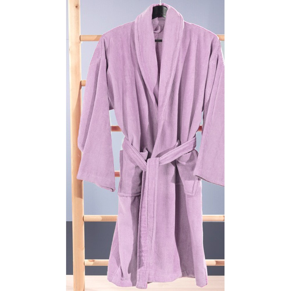 Μπουρνούζι Nima Spa Light Lilac X-LARGE X-LARGE 68876