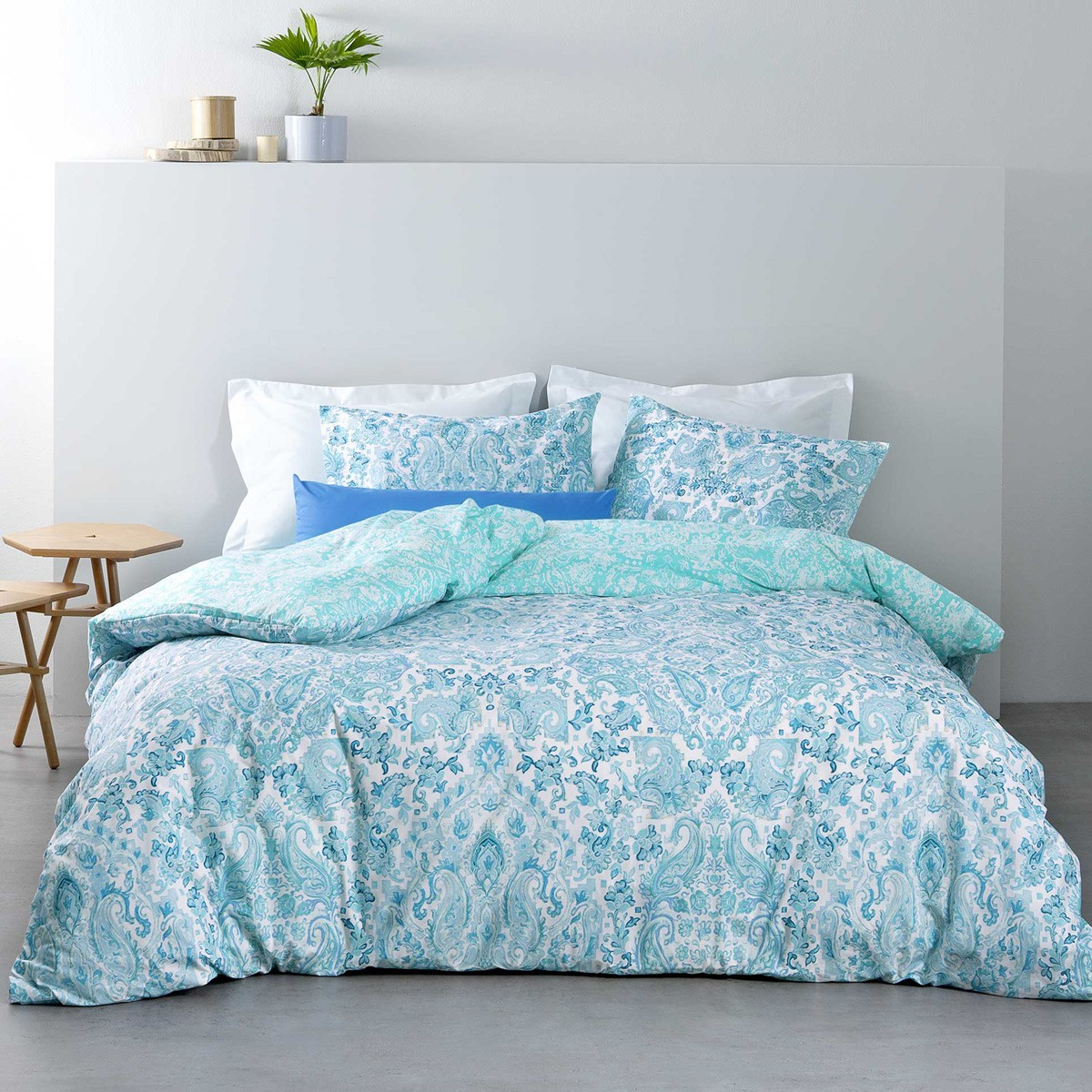Κουβερλί Μονό Nima Bed Linen Ananta Blue
