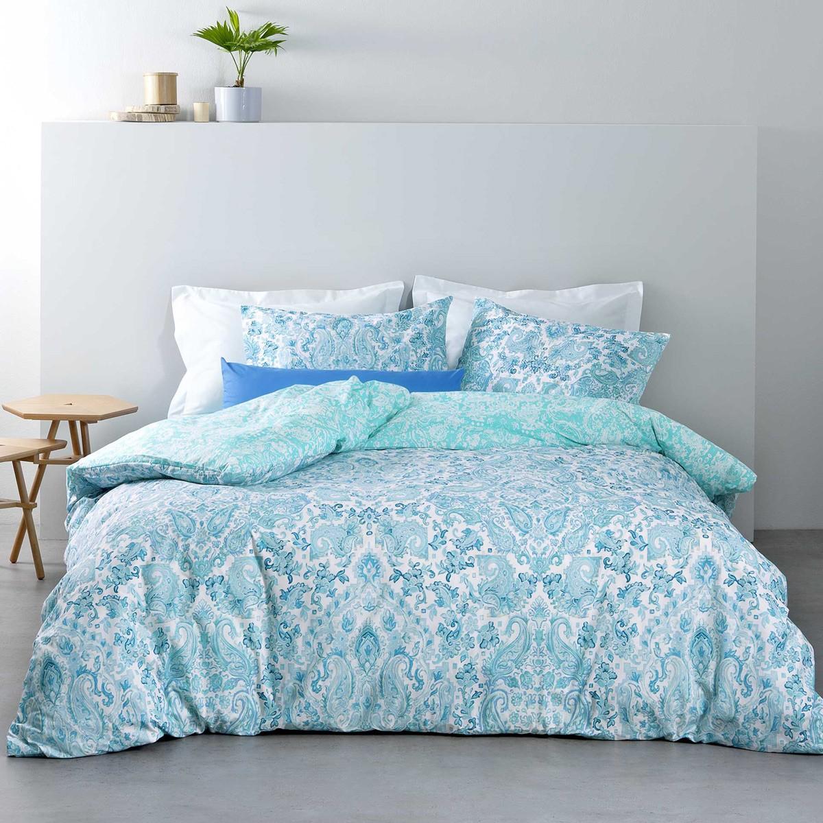 Κουβερλί Μονό Nima Bed Linen Ananta Blue