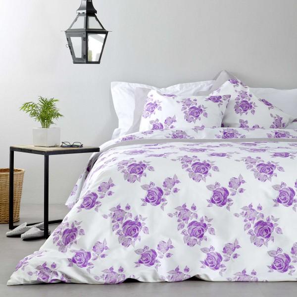 Σεντόνια Υπέρδιπλα (Σετ) Nima Bed Linen Rosalie Lilac