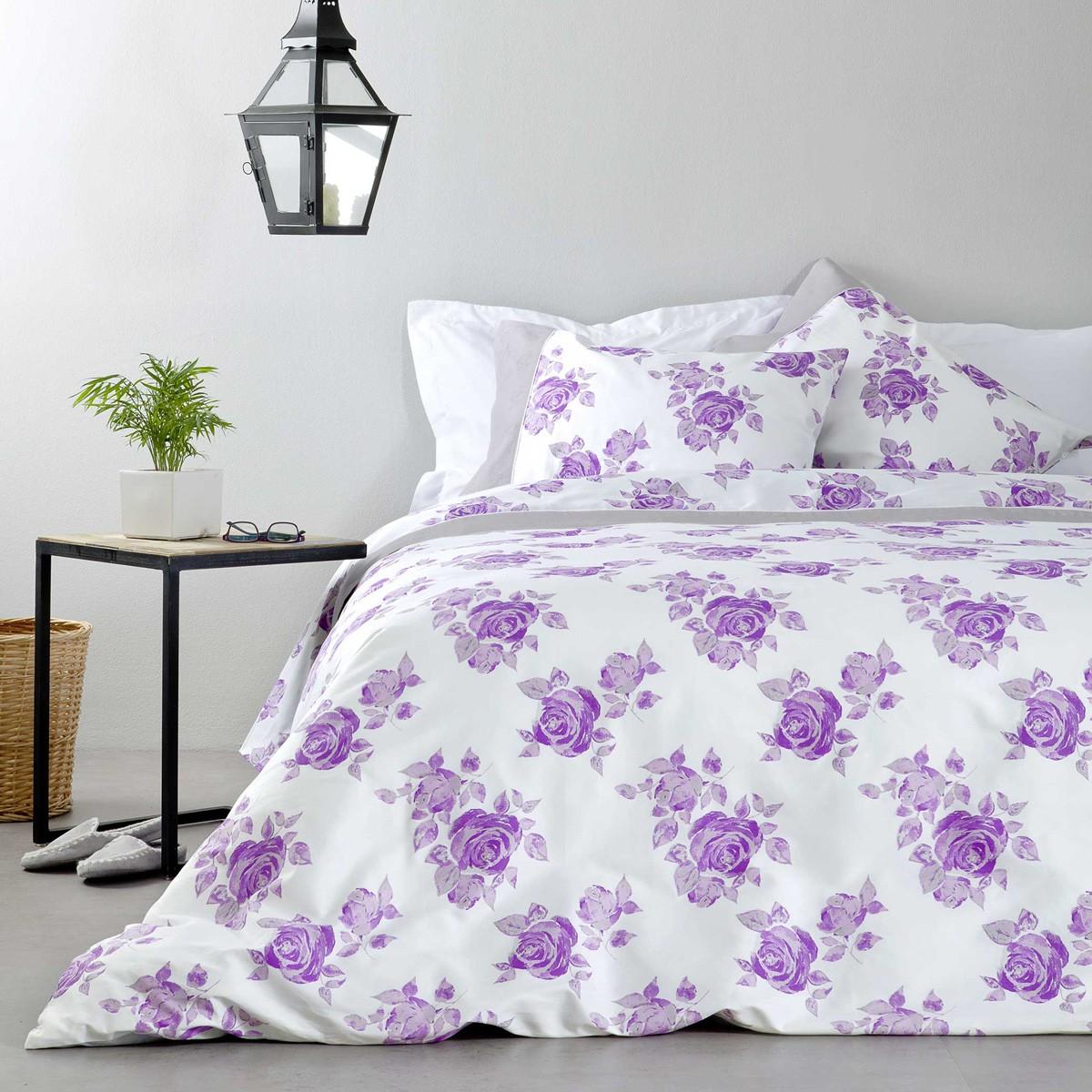 Κουβερλί Υπέρδιπλο Nima Bed Linen Rosalie Lilac