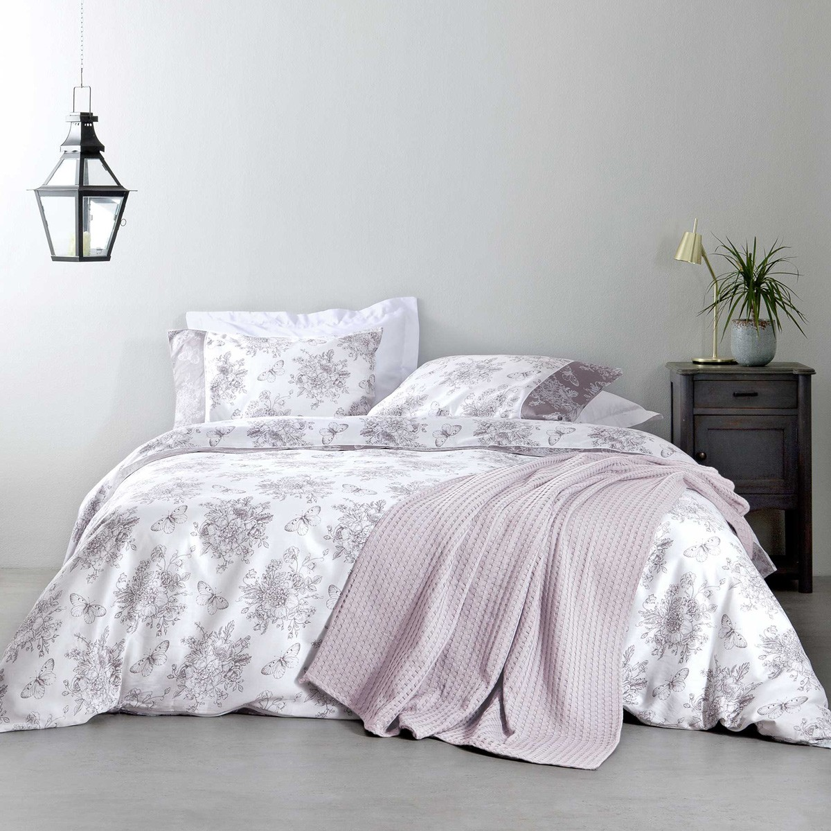 Κουβερλί Υπέρδιπλο Nima Bed Linen Whitehall Moca