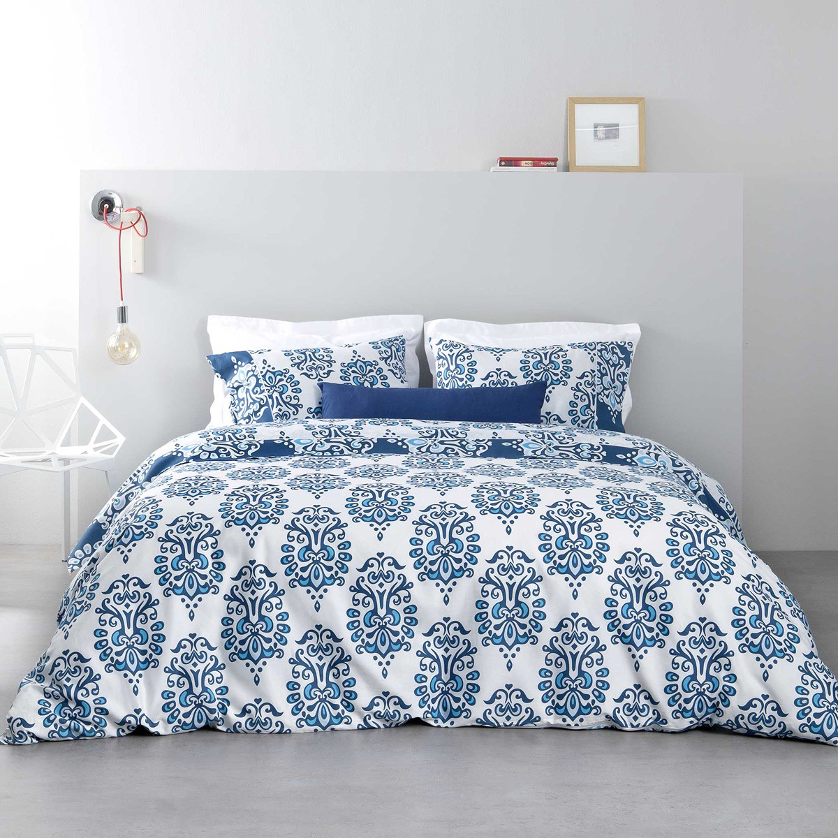 Κουβερλί Υπέρδιπλο Nima Bed Linen Ariadne Blue