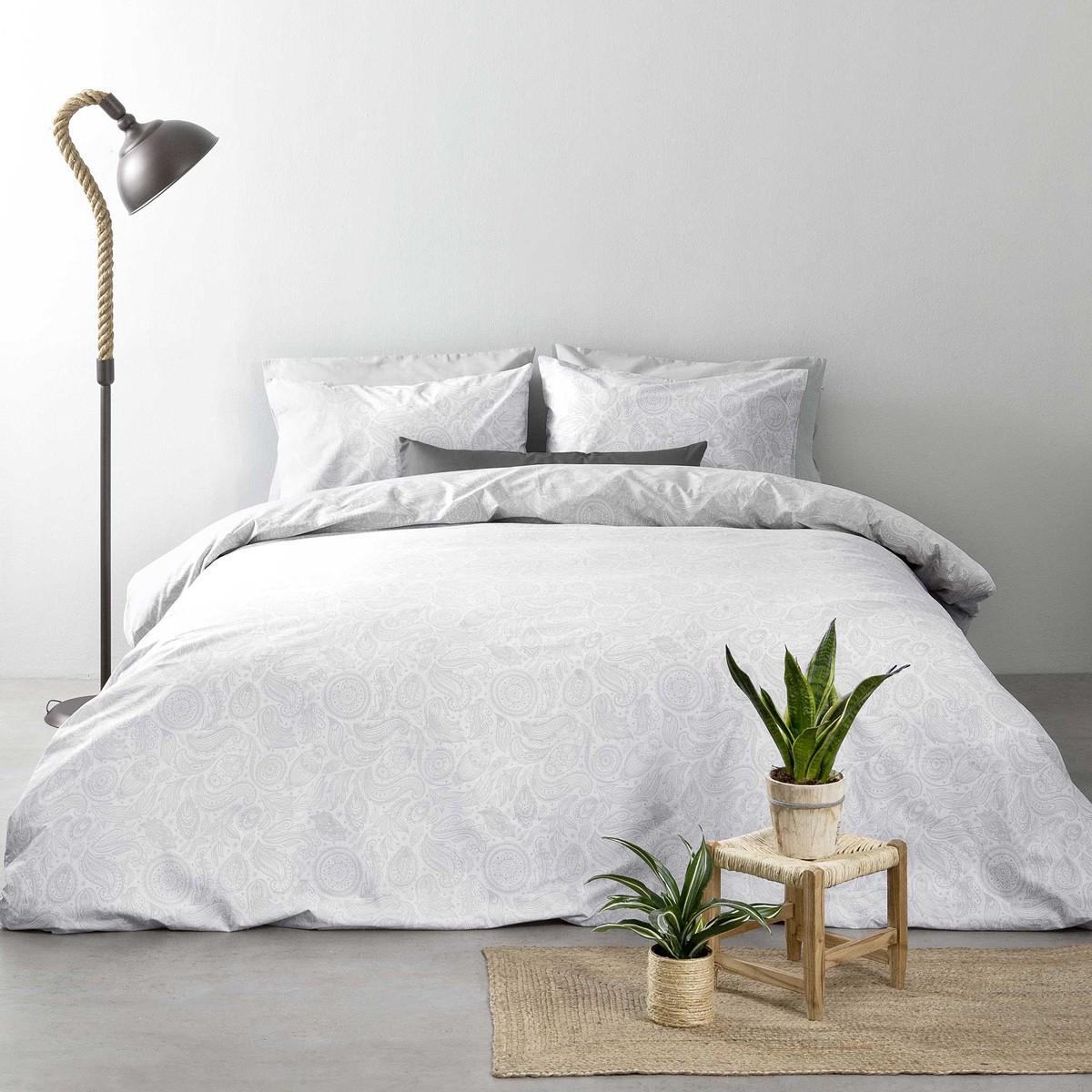 Σεντόνια Υπέρδιπλα (Σετ) Nima Bed Linen Jaipur Grey