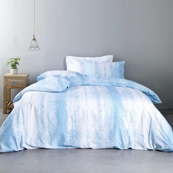 Σεντόνια Μονά (Σετ) Nima Bed Linen Battisti Blue
