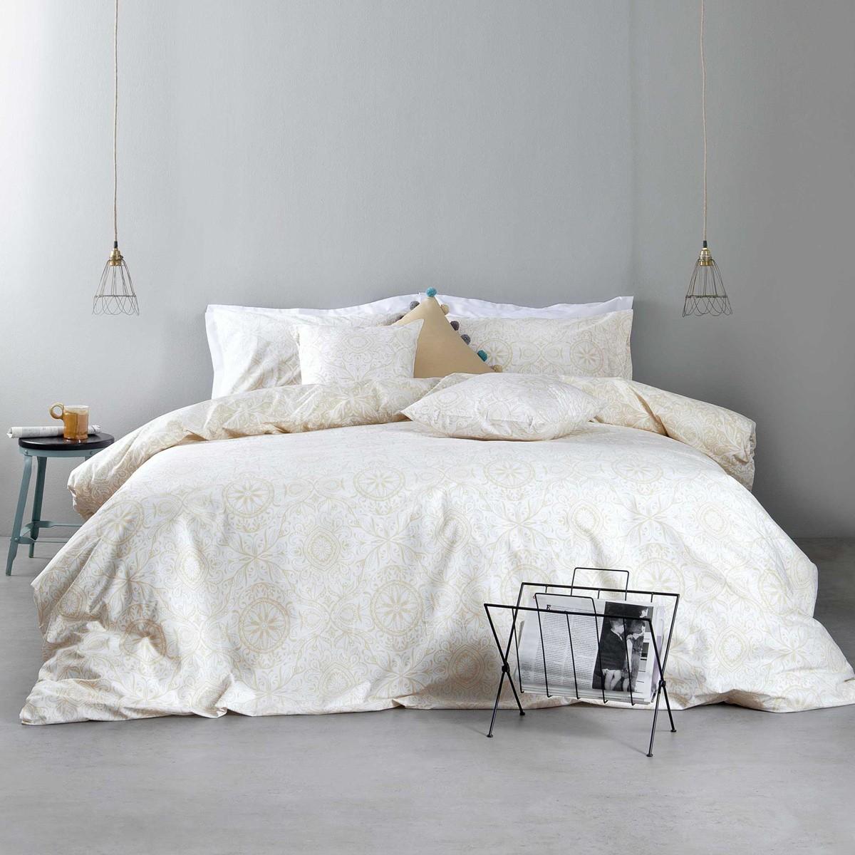 Σεντόνια Υπέρδιπλα (Σετ) Nima Bed Linen Anatolica Beige