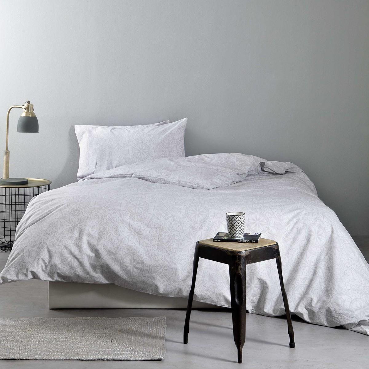 Σεντόνια Υπέρδιπλα (Σετ) Nima Bed Linen Anatolica Grey