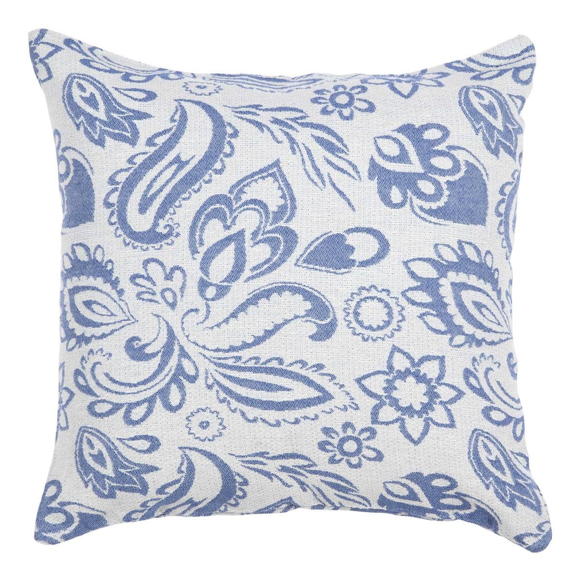 Διακοσμητική Μαξιλαροθήκη Nima Cushions Delhi Blue