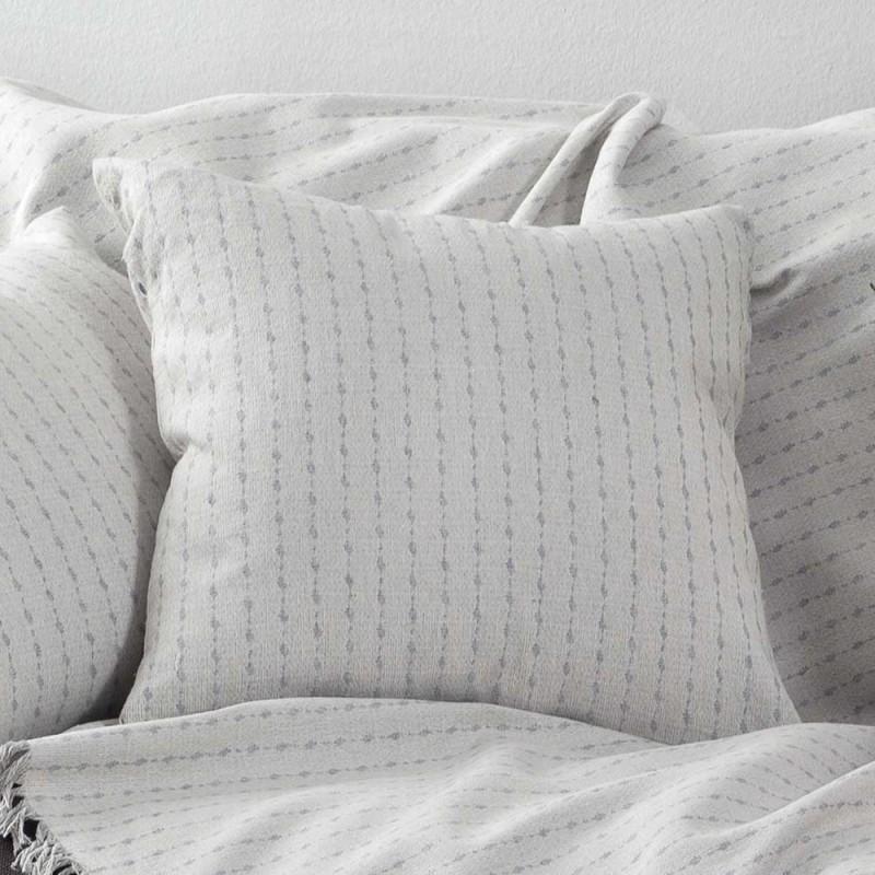 Διακοσμητική Μαξιλαροθήκη (50x50) Nima Cushions Orobio Grey