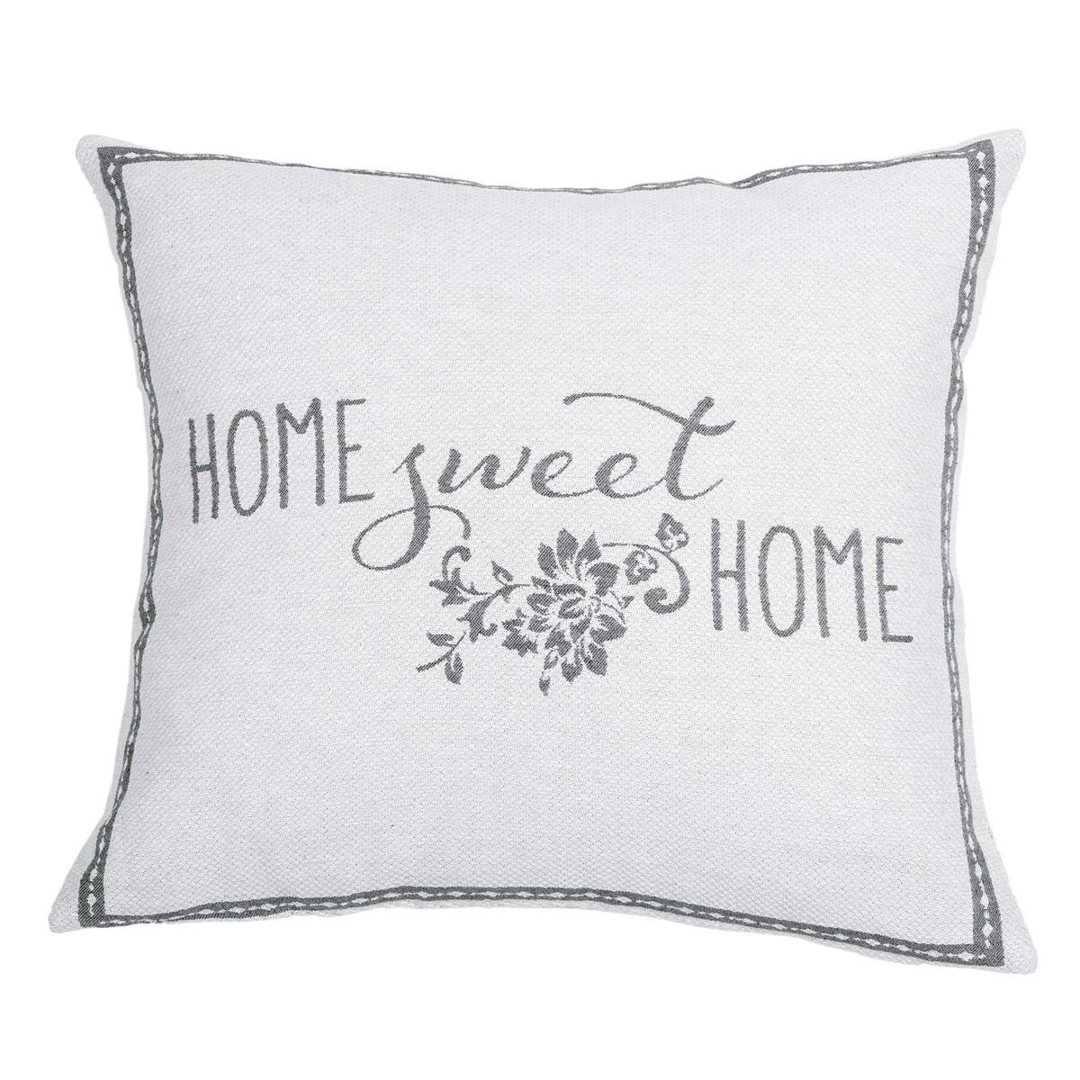 Διακοσμητική Μαξιλαροθήκη Nima Cushions Sweet Home Grey