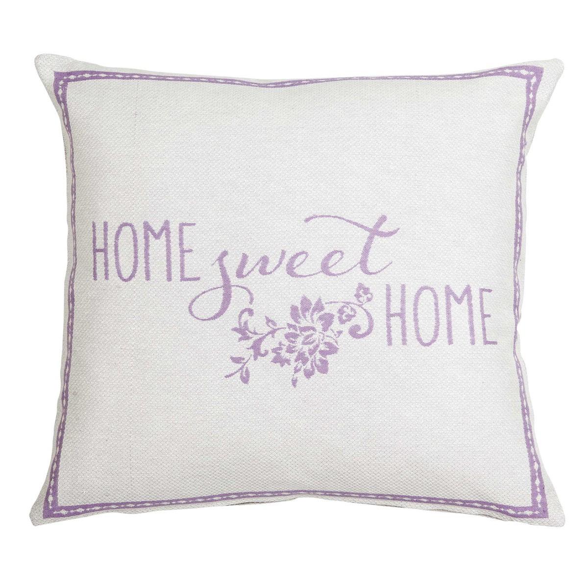 Διακοσμητική Μαξιλαροθήκη Nima Cushions Sweet Home Lilac