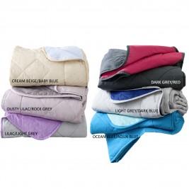 Κουβερλί Ημίδιπλο Διπλής Όψης Nima Layers Colors
