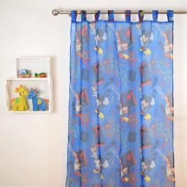 Παιδική Κουρτίνα (140x290) Με Θηλιές Disney Mickey Rock CH012 Bl