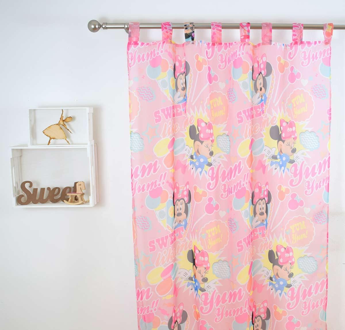 Παιδική Κουρτίνα (140x290) Disney Minnie MK013 Pink