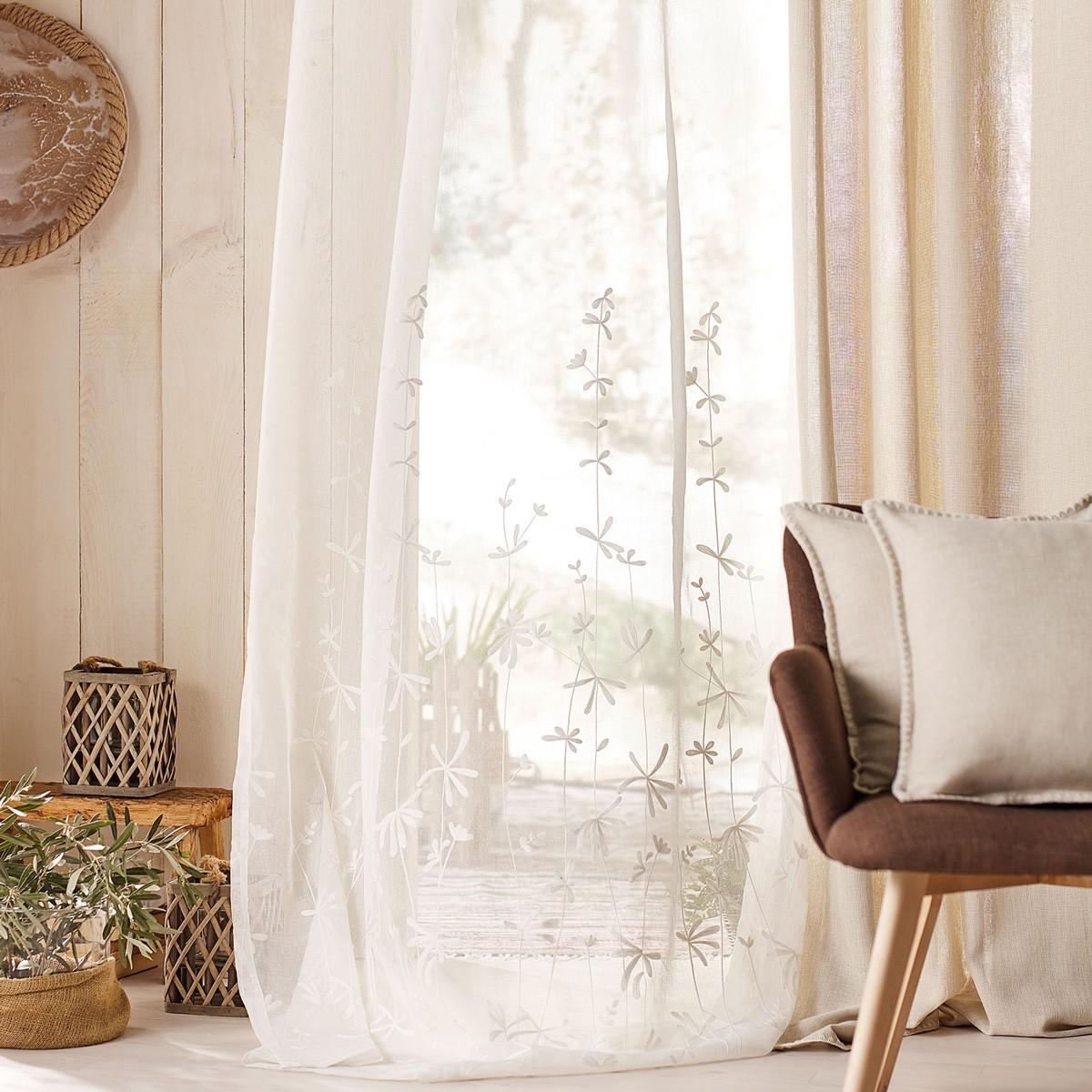 Κουρτίνα (140x280) Gofis Home Ivy 545/05