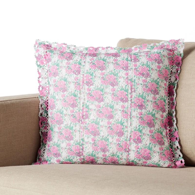 Διακοσμητική Μαξιλαροθήκη (43x43) Gofis Home Orchard Pink 020/17