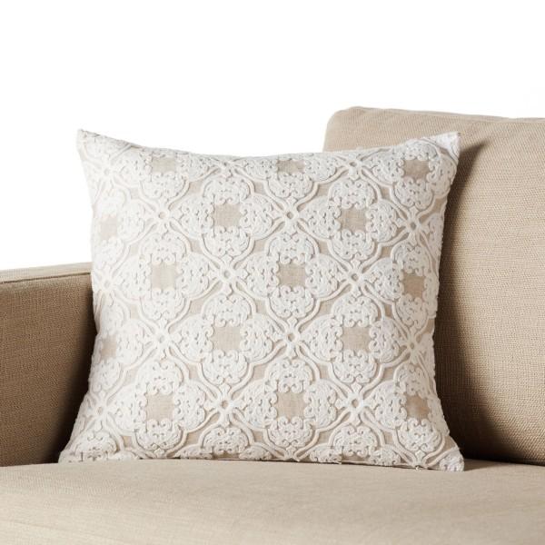 Διακοσμητική Μαξιλαροθήκη (43x43) Gofis Home Darnah Linen 468/06