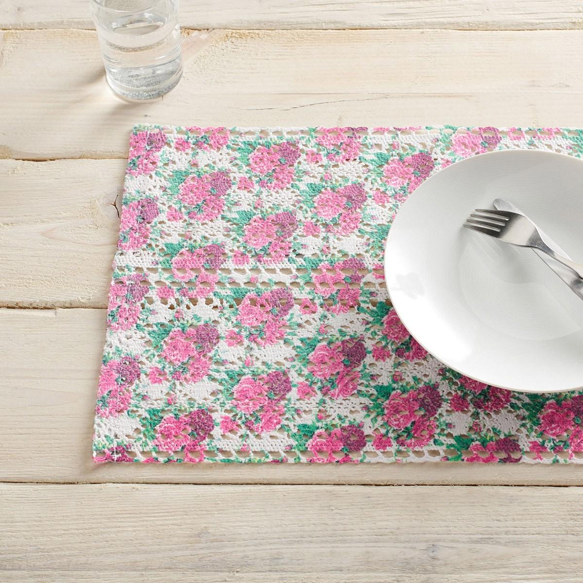 Σουπλά (Σετ 2τμχ) Gofis Home Orchard Pink 020/17
