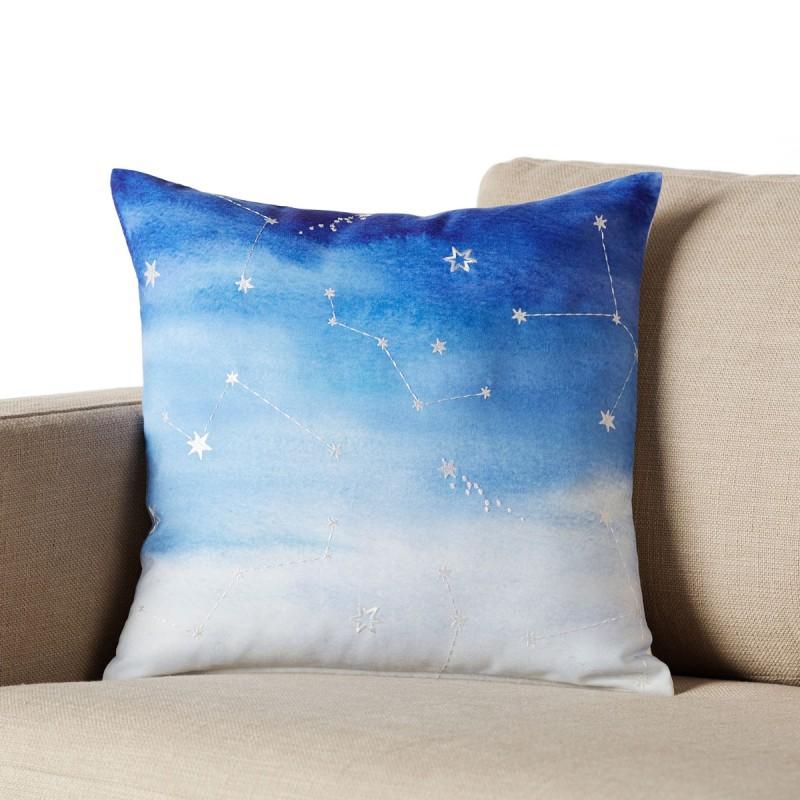 Διακοσμητική Μαξιλαροθήκη (45x45) Gofis Home Horoscope 640