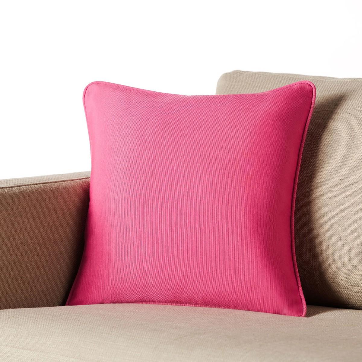 Διακοσμητική Μαξιλαροθήκη Gofis Home Solid Pink 911/17
