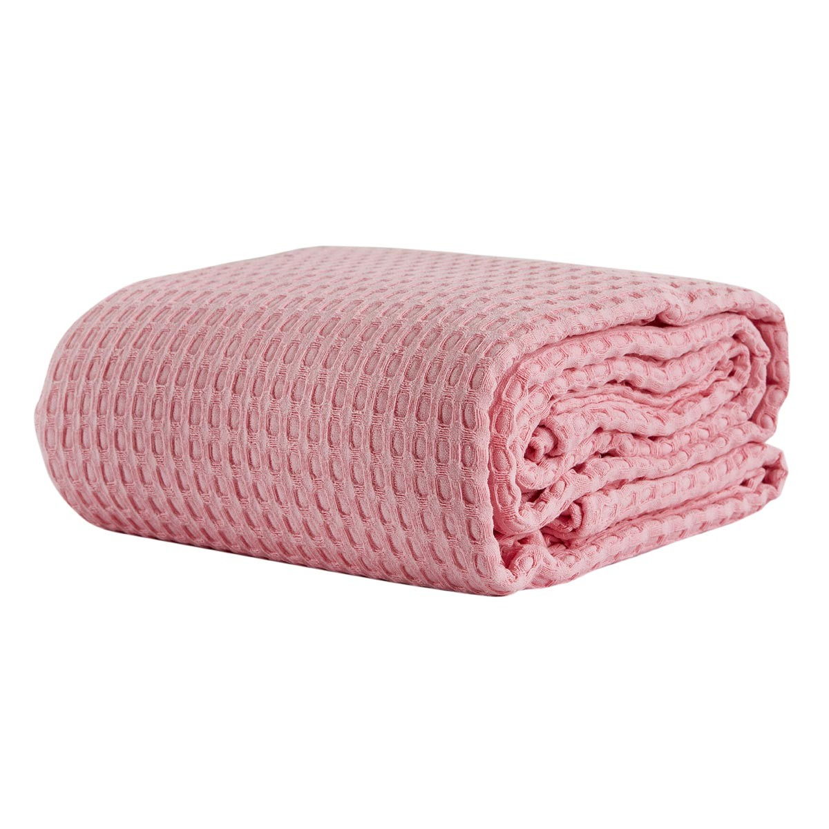 Κουβέρτα Πικέ Υπέρδιπλη White Egg ΚΠ10Α Ροζ