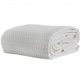Κουβέρτα Πικέ Υπέρδιπλη White Egg ΚΠ10Ι Λευκό