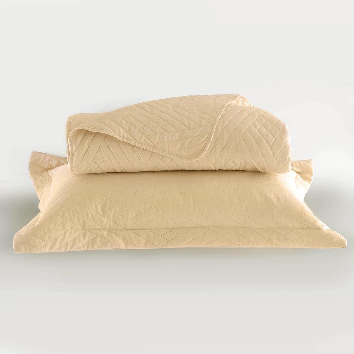 Κουβερλί Υπέρδιπλο (Σετ) Rythmos Lucie Ecru home   κρεβατοκάμαρα   κουβερλί   κουβερλί υπέρδιπλα
