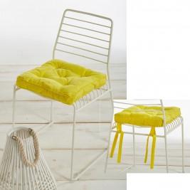 Μαξιλάρι Καρέκλας White Egg MK1A Yellow