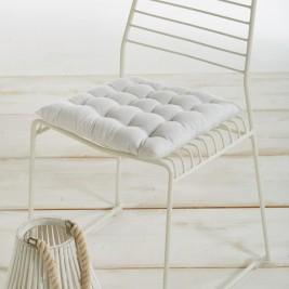Μαξιλάρι Καρέκλας White Egg MK2Γ White