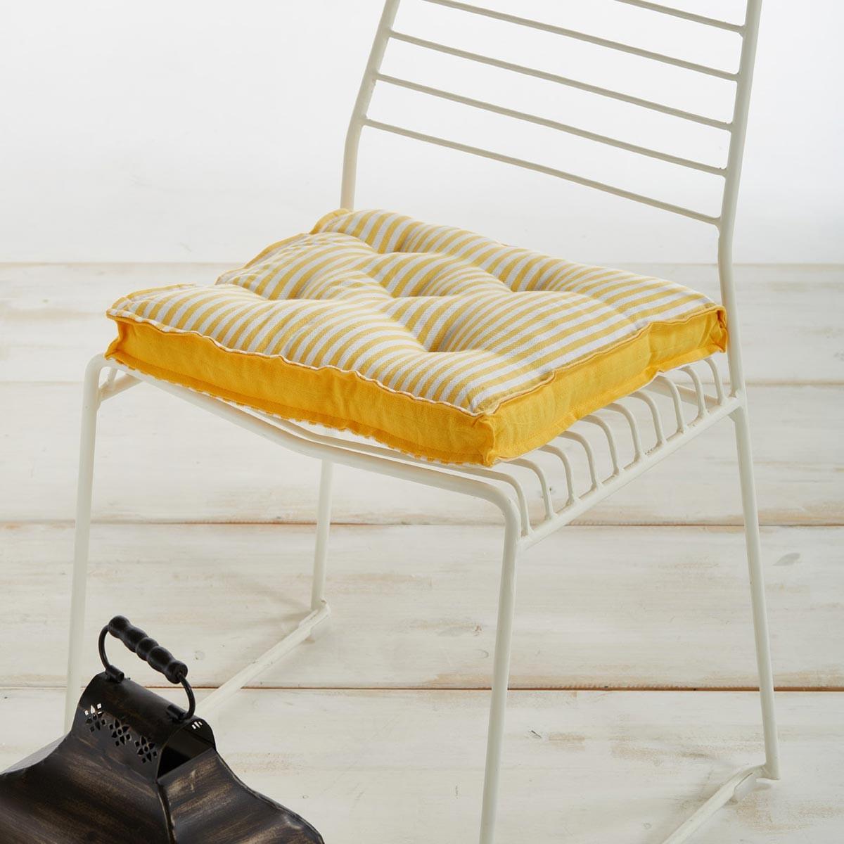Μαξιλάρι Καρέκλας White Egg MK4A Yellow
