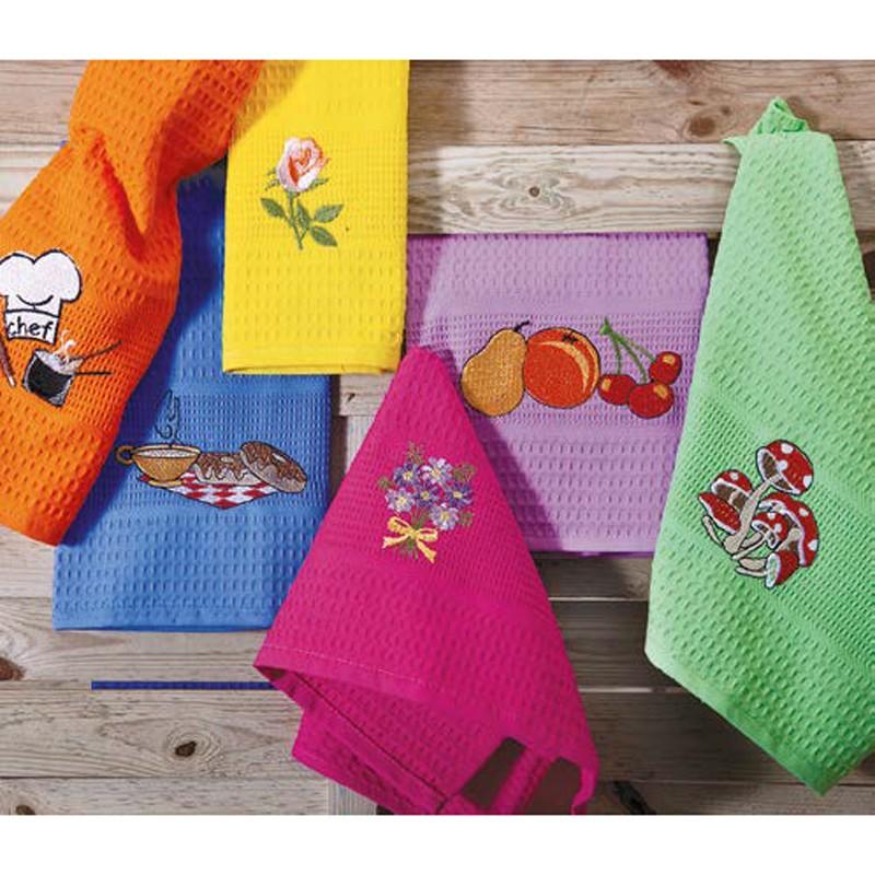 Ποτηρόπανα (Σετ 6τμχ) Palamaiki Kitchen Towels/1
