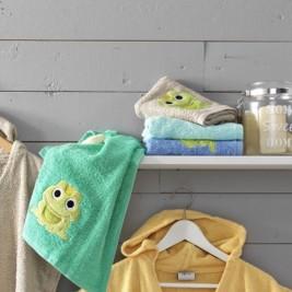Παιδικές Πετσέτες Χεριών (Σετ 4τμχ) Palamaiki Kids Frog/1