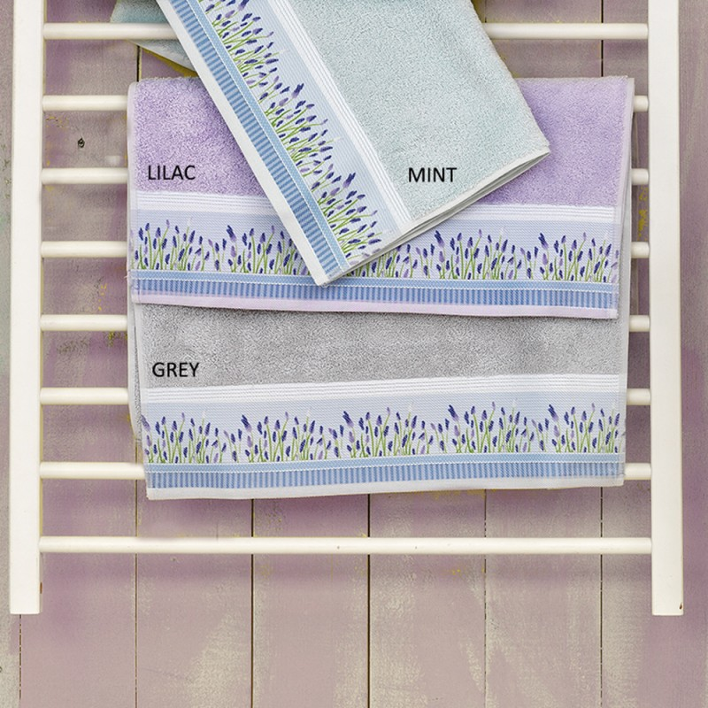 Πετσέτες Μπάνιου (Σετ 3τμχ) Palamaiki Digital Towels P102