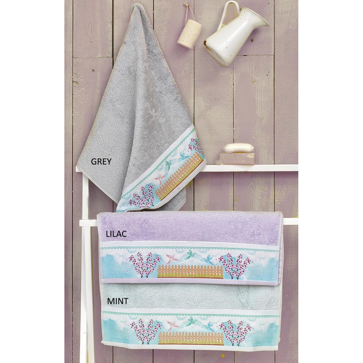Πετσέτες Μπάνιου (Σετ 3τμχ) Palamaiki Digital Towels S111