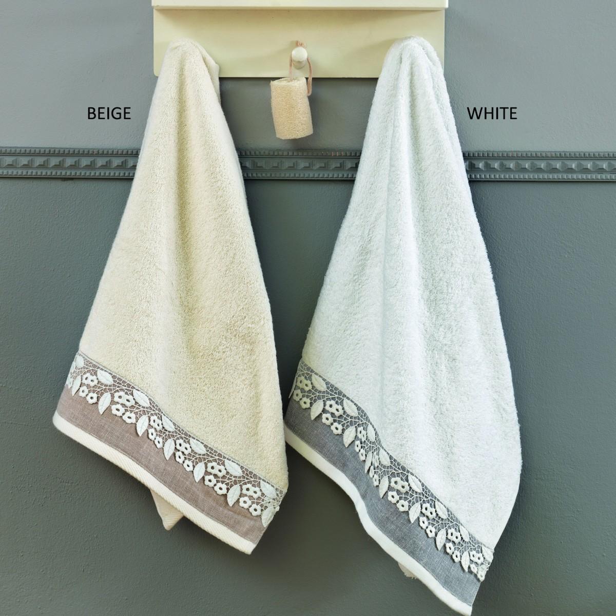 Πετσέτες Μπάνιου (Σετ 3τμχ) Palamaiki Digital Towels Latiffe