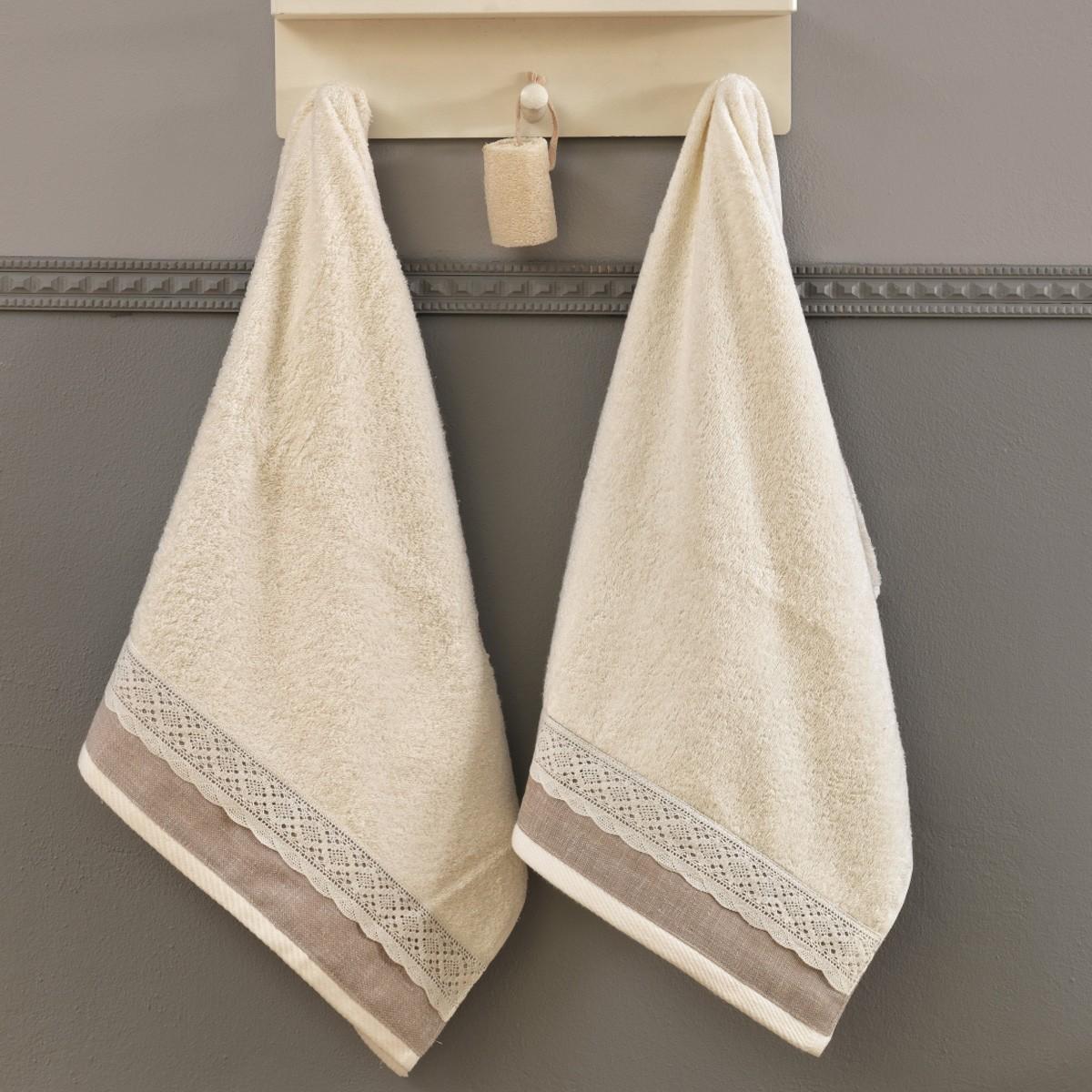 Πετσέτες Μπάνιου (Σετ 3τμχ) Palamaiki Digital Towels Wiev