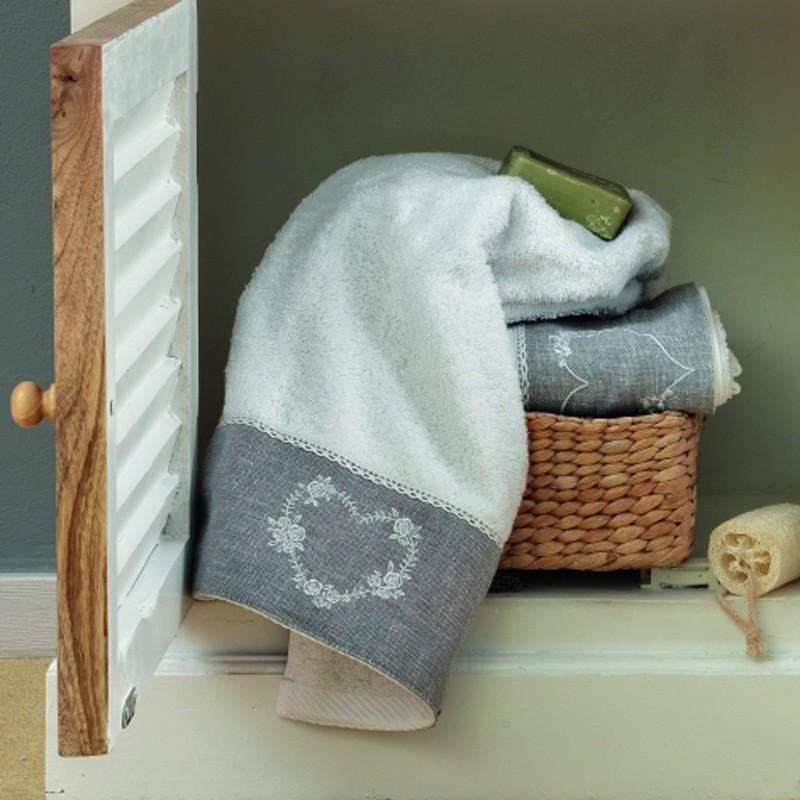 Πετσέτες Μπάνιου (Σετ 3τμχ) Palamaiki Digital Towels Asal