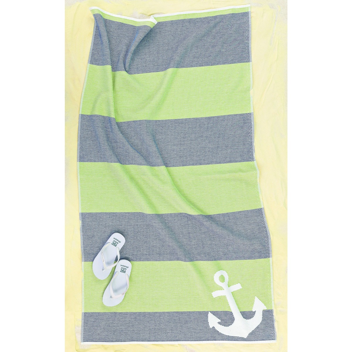 Πετσέτα Θαλάσσης Palamaiki Joker Green/Blue