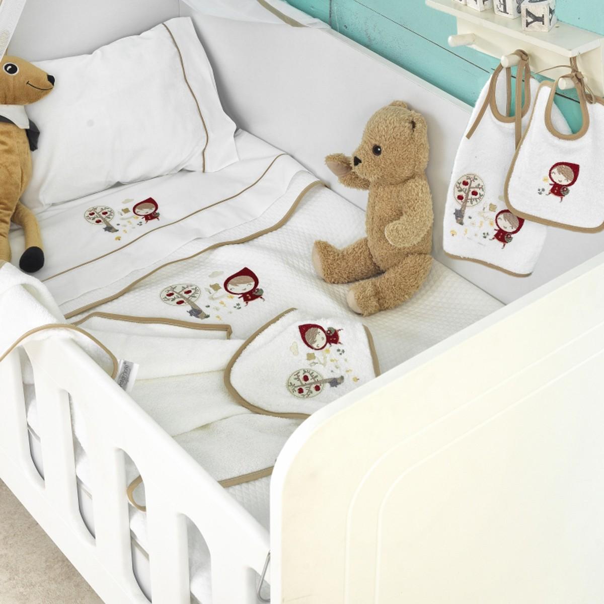 Κουβέρτα Πικέ Κούνιας Palamaiki Baby Joia 872 home   βρεφικά   κουβέρτες βρεφικές   κουβέρτες καλοκαιρινές
