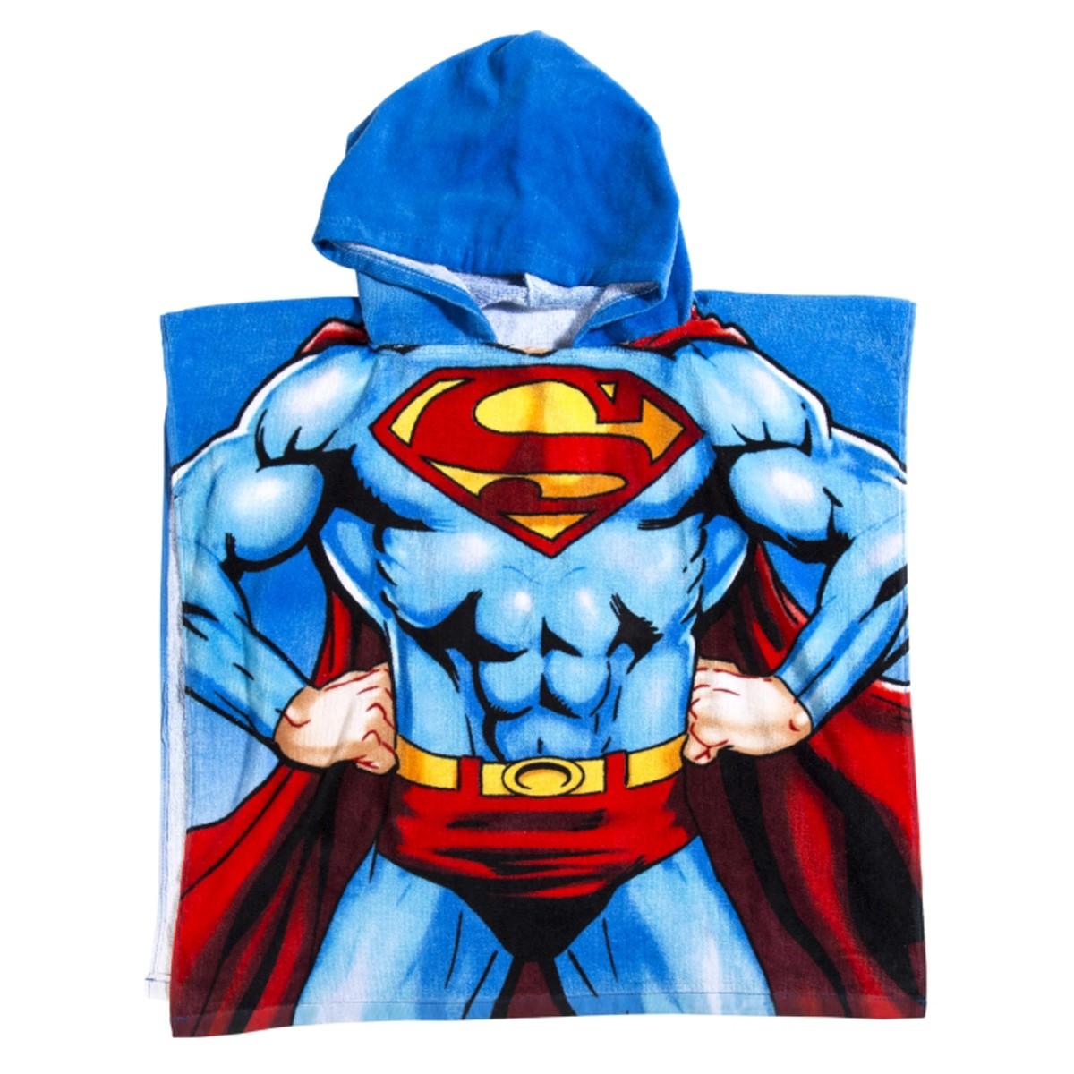 Παιδικό Πόντσο Palamaiki Superman
