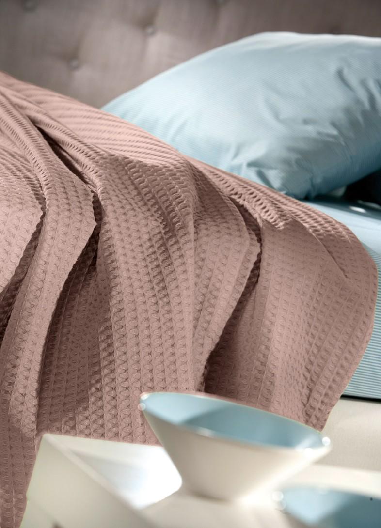 Κουβέρτα Πικέ Υπέρδιπλη Guy Laroche Studio Wenge