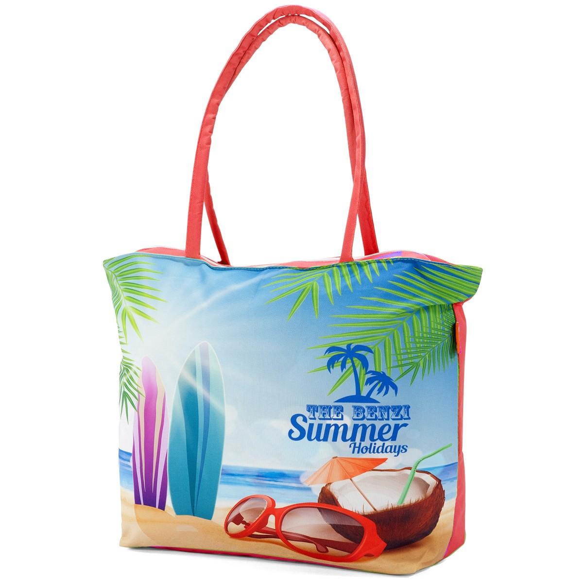 Τσάντα Παραλίας Benzi 5000 Red home   θαλάσσης   τσάντες παραλίας
